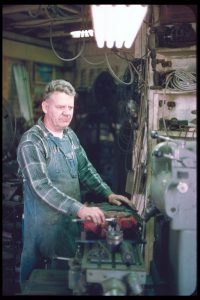Ted_Cannon_at work_Cannon Engineering 1970s